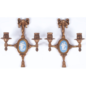 E. F. Caldwell Neoclassical-style Sconces