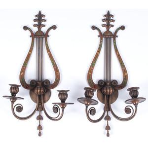E. F. Caldwell Classical-style Sconces