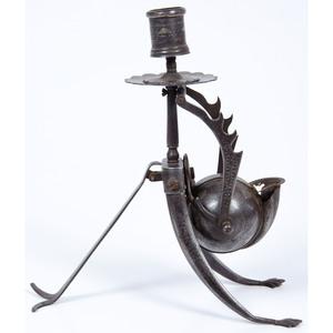 Bronze Scribe's Candlestick