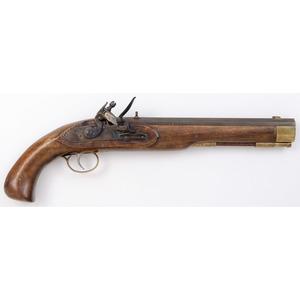 Contemporary Flintlock Pistol