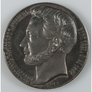 Civil War-Minted Stonewall Jackson Memorial Medal, Struck in France for Distribution to the Stonewall Brigade
