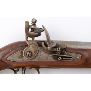 Contemporary Copy Of Tower Flintlock Pistol