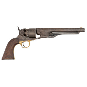 Martially Marked Colt Model 1860 Army Revolver