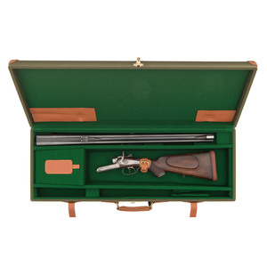 Cased Holland & Holland Hammer Double Rifle