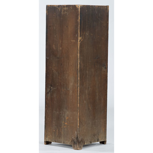 Rare Southern Diminutive Corner Cupboard