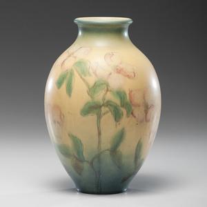 Rookwood Pottery Matte Glaze Vase, Delia Workum