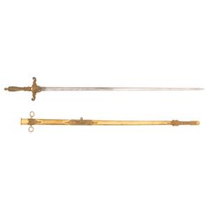 Identified M1840 Medical Staff Sword and Diaries Belonging to Surgeon Stephen M. Cobb, 35th Iowa