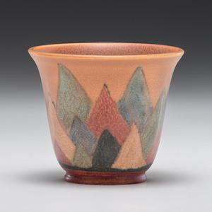 Rookwood Pottery Art Deco Vase, Wilhelmine Rehm