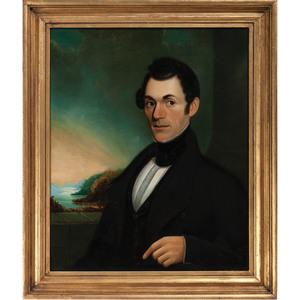 American School, Portrait of a Man