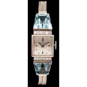 Spaulding & Co. 14k White Gold Watch