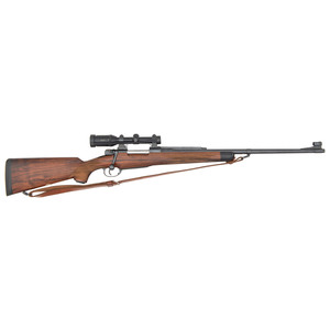 ** Custom Mauser Bolt Action Sporting Rifle Attributed to Griffin Howe