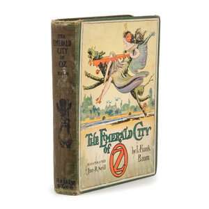[Children's Literature] L.Frank Baum's, The Emerald City of Oz, ca.1920 with Color Plates