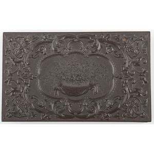 Double Sixth Plate Union Case, Bowl of Flowers, Dark Brown [Berg 2-3]