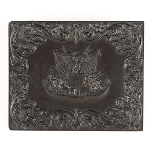 Quarter Plate Union Case, Union and Constitution, Black [Berg 1-19]