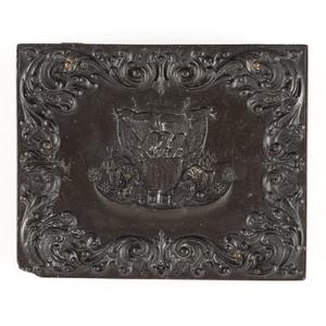 Quarter Plate Union Case, Union and Constitution, Black [Berg 1-19]