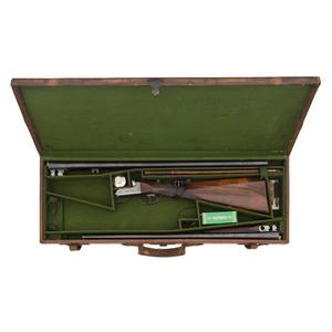** GE Lewis Boxlock Shotgun with Two-Barrel Set