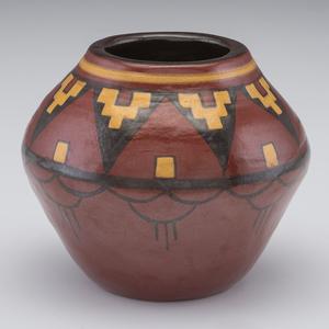 Lorene Jasper, North Dakota School of Mines Southwestern Vase