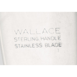 Wallace Sterling Silver Flatware, Sir Christopher