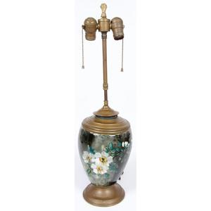 Cincinnati Art Pottery Lamp by Albert Valentien