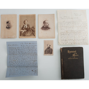 US Army Engineer Barton Stone Alexander, CDV, Family Photographs, Civil War Correspondence Including Description of Union Troops at First Bull Run, and More