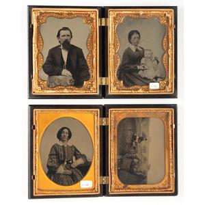 Pair of Quarter Plate Union Cases [Berg 1-36, 1-40]