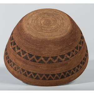 Yokut Cooking Basket, Deaccessioned From the Hopewell Museum, Hopewell, NJ