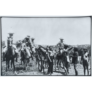 Type 2 Photographic Prints of Theodore Roosevelt, Including Inaugural Address and Hunting Expeditions