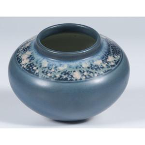 Rookwood Pottery Vellum Vase, E.T. Hurley