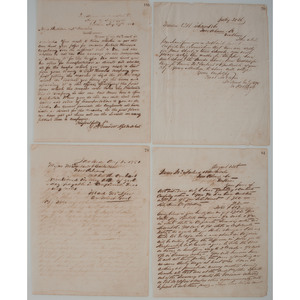 Confederate, Early Civil War-Dated Documents from the Army of Mississippi, Lot of Four