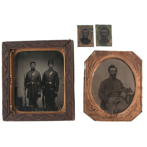 Civil War Tintypes, Plus