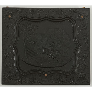 Very Very Rare Sixth Plate Union Case, Escape of General Putnam [Berg 1-57], Containing Daguerreotype Portrait