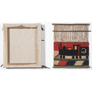 Navajo Pictorial Germantown Samplers / Rugs