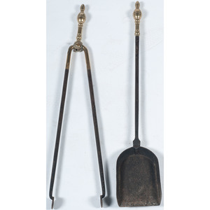 Fireplace Tongs and Shovel