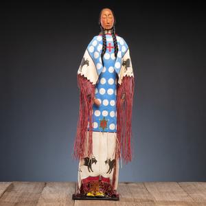 Rhonda Holy Bear (Cheyenne River Sioux, b. 1960) Figure