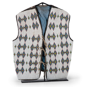 Blackfeet Beaded Vest, Property of a Private Midwest Museum
