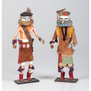 Duane Dishta (Zuni, 1946-2011) Pasikiapa Mosona AND Hehe'a, From The Harriet and Seymour Koenig Collection, NY