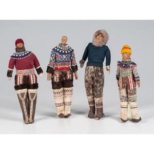 Greenlandic Inuit and Alaskan Eskimo Dolls