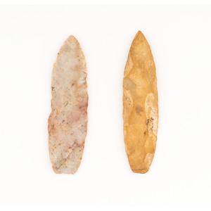 Two Paleo Lances,  From the Collection of Jon Anspaugh, Wapakoneta, Ohio