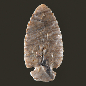 A St. Charles Dovetail Point, From the Collection of Jon Anspaugh, Wapakoneta, Ohio