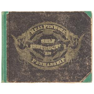 [Calligraphy] Real Pen Work Pittsfield, Massachusetts 1881 -
