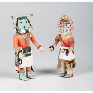 Hopi Hakto AND Heheya Katsinas, From The Harriet and Seymour Koenig Collection, NY