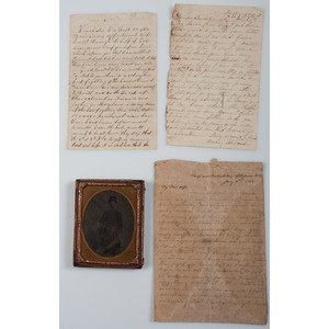 Small Letter Archive of Wm. Rudd, 5th Florida Infantry, CSA