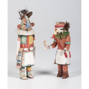 Hopi Tsitoto and Tasaf Katsinas, From The Harriet and Seymour Koenig Collection, NY