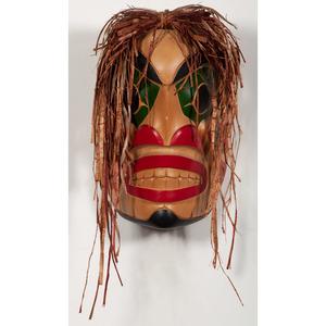 Nathan Lewis (Squamish, b. 1973) Carved Wood Mask