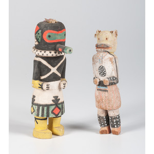 Hopi Sip-ikne AND Kweo Katsinas, From The Harriet and Seymour Koenig Collection, NY
