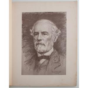 Robert E. Lee Portrait and Keepsake Copy of  G.O. No. 9