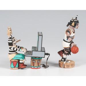 Hopi Koshari Katsinas, From The Harriet and Seymour Koenig Collection, NY