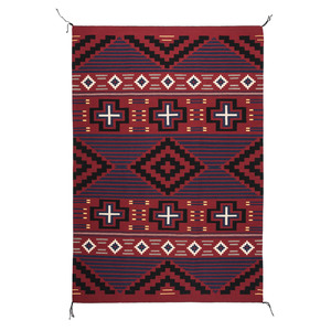Tina Conn (Dine, 20th century) Navajo Third Phase Revival Weaving / Rug