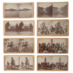 Early San Francisco Stereoview Collection, Lot of 27