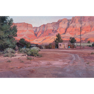 Josh Elliott (American, b. 1973), Oil on Masonite